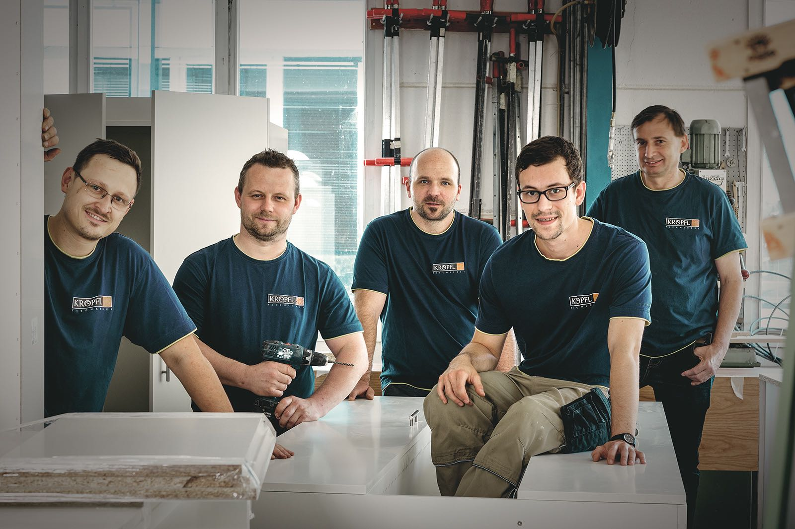 Das Kröpfl Team